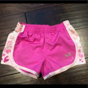 Girls Cute Pink Disney Shorts